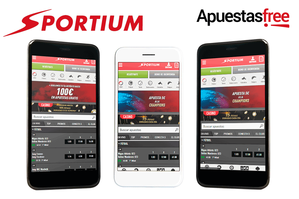 descargar app de sportium