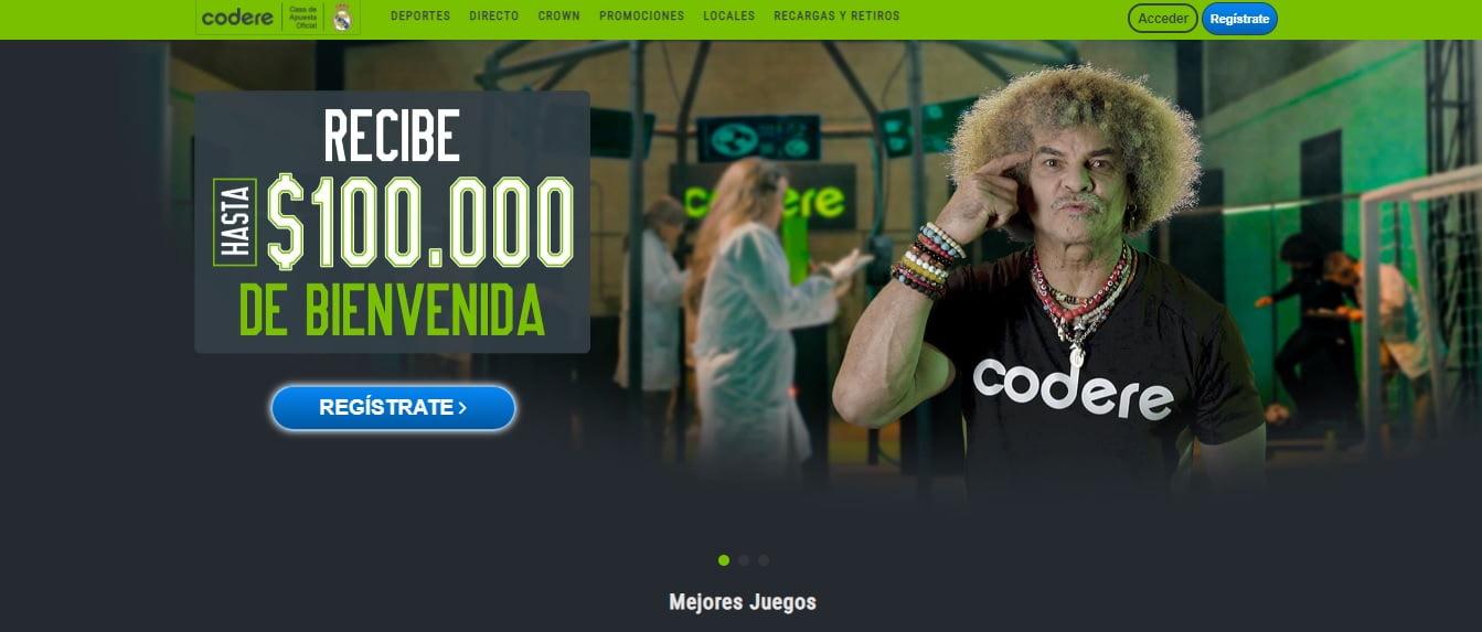 bonos codere COLOMBIA